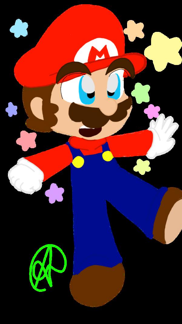 kawaii-Mario by nintenloid