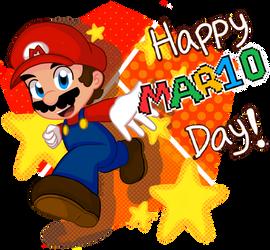 Happy MAR10 day!! by nintenloid