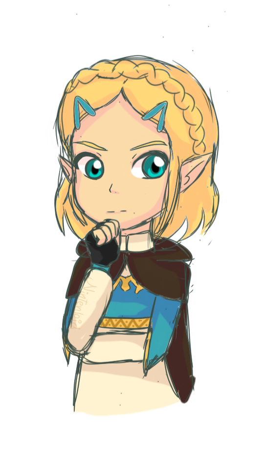 Zelda Botw 2 Short Hair By Nintenloid On Deviantart