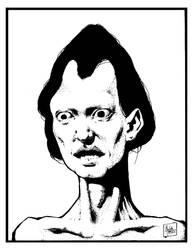 Portrait of Walter Li Yeung by M-B-Mordala