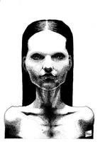 Woman by M-B-Mordala