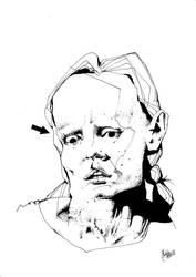 Portrait II by M-B-Mordala