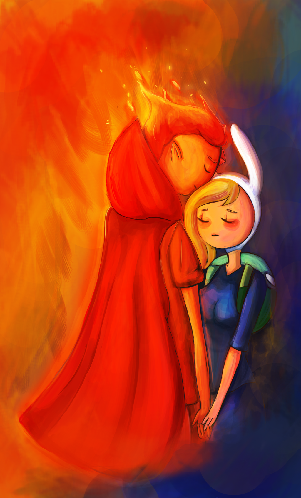 Adventure Time Flame Prince Comic Fionna and Flame Princ...