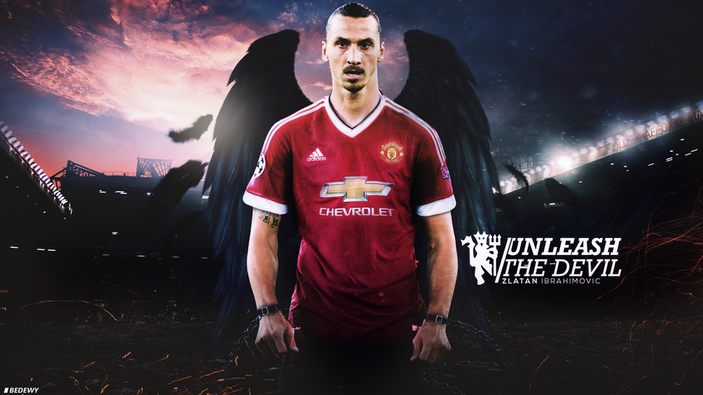 Zlatan Ibrahimovic  Wallpaper UNLEASH THE DEVIL by OmarBedewyGFX on