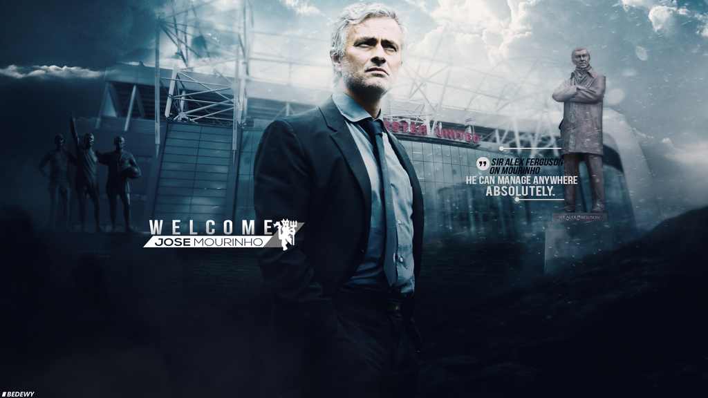 Welcome Jose Mourinho Wallpaper By Omarbedewygfx On