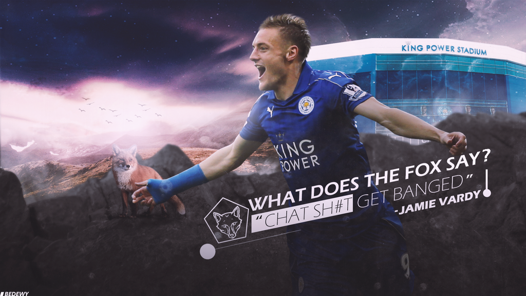 Jamie Vardy Wallpaper By OmarBedewyGFX On DeviantArt