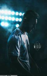 Messi Lockscreen by OmarBedewyGFX