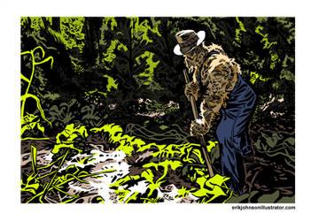 Straw Farmer by StardustDragon