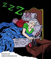 SleepCare Seasonal Serial Part 1: Santa Snores by StardustDragon