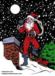 SleepCare Seasonal Serial Part 4: Skinny Santa by StardustDragon