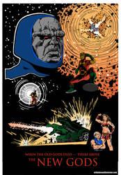 New Gods Movie Poster by StardustDragon