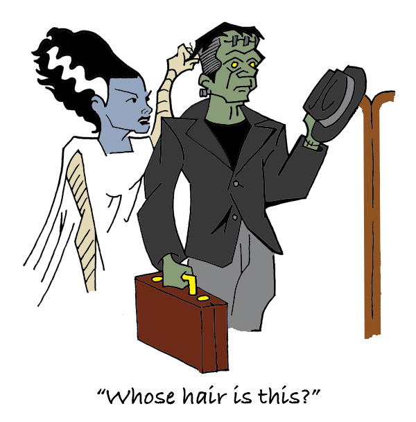 Whose Hair? by StardustDragon