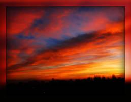 Sky Above My City 5 by Aivaseda
