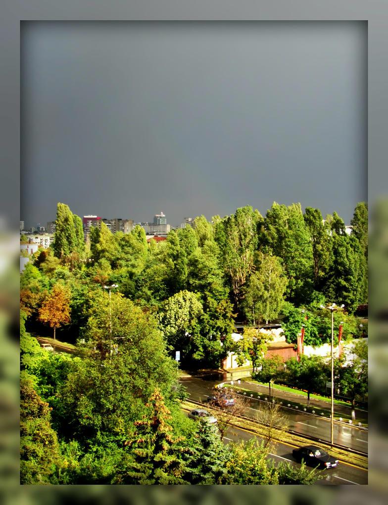 A Rainy Day by Aivaseda