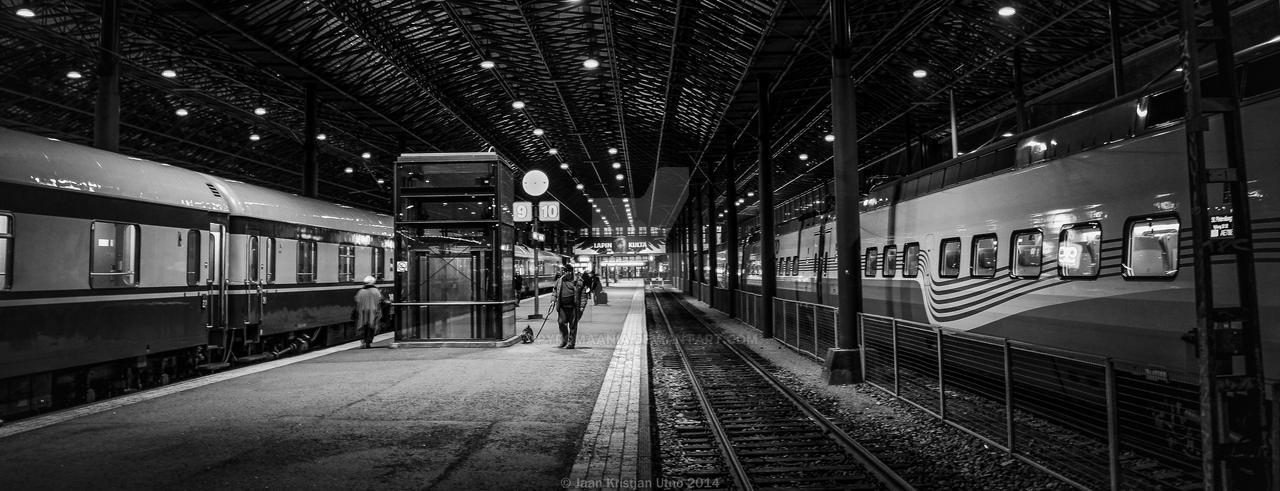 Helsinki Station by Pyromaania