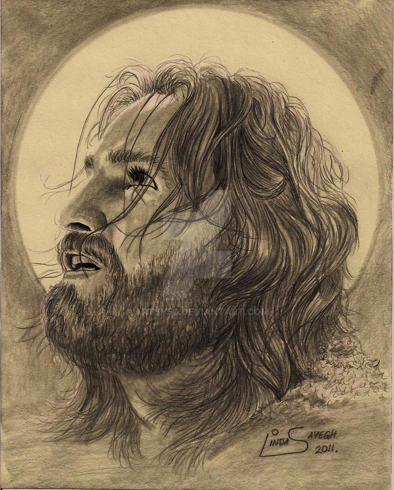 Jesus in Gethsemane... by Artsy50