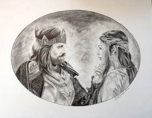 Aragorn and Arwen...
