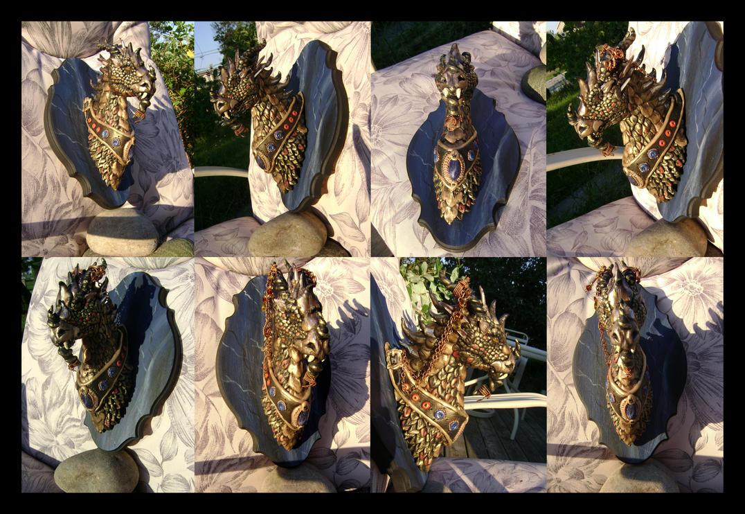 Ka'lon Gysse'Arnith...Dragon chief, Clan of fire. by Artsy50