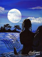 Moon's Glow Mermaid by Artsy50