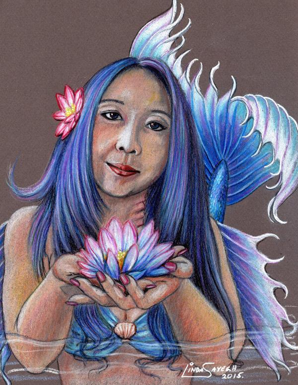 Lotus Blossom WIP by Artsy50