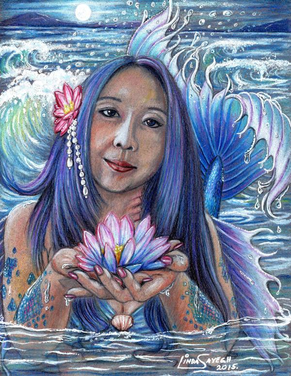 Lotus Blossom by Artsy50