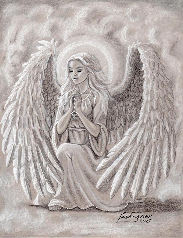 An Angel's Prayers by Artsy50