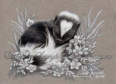 Cute little stinker by Artsy50