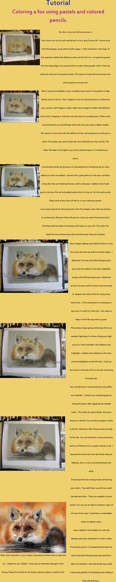 Fox coloring Tutorial by Artsy50