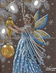 Deck the Halls with this little Faerie