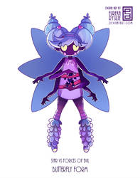 Butterfly form