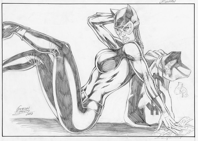 Catwoman by jgledson