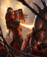 Starcraft Firebat by Phill-Art