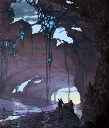 Sci-fi Landscape by Phill-Art