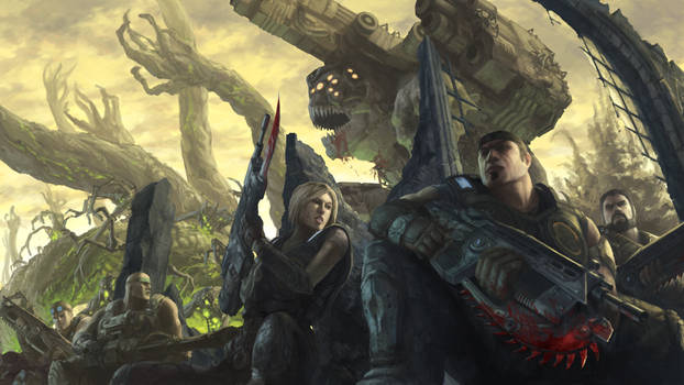 Gears of War 3 by Phill-Art