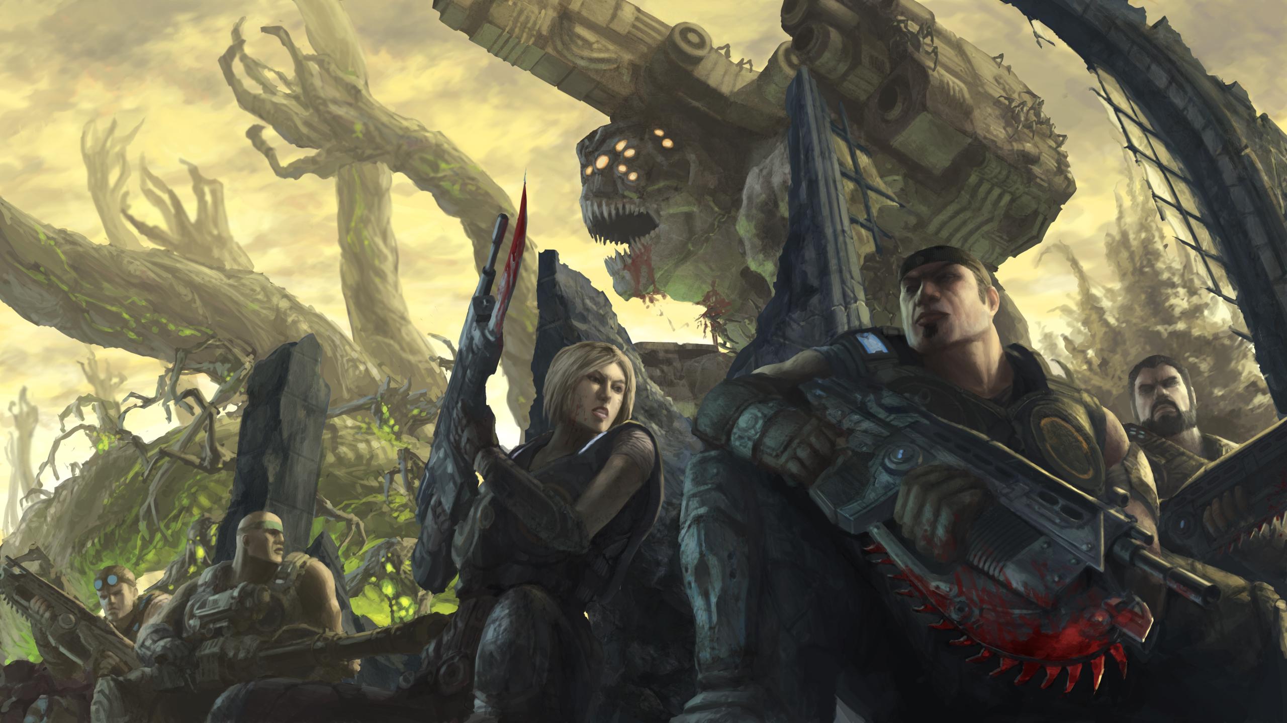 Gears of War 3 by Phill-Art
