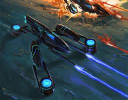 NOVA concept (Drone) by Phill-Art