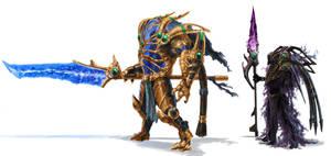 Protoss Hero and Void Walker