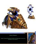 Protoss Warp Reaver