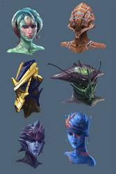 Alien Head Concepts