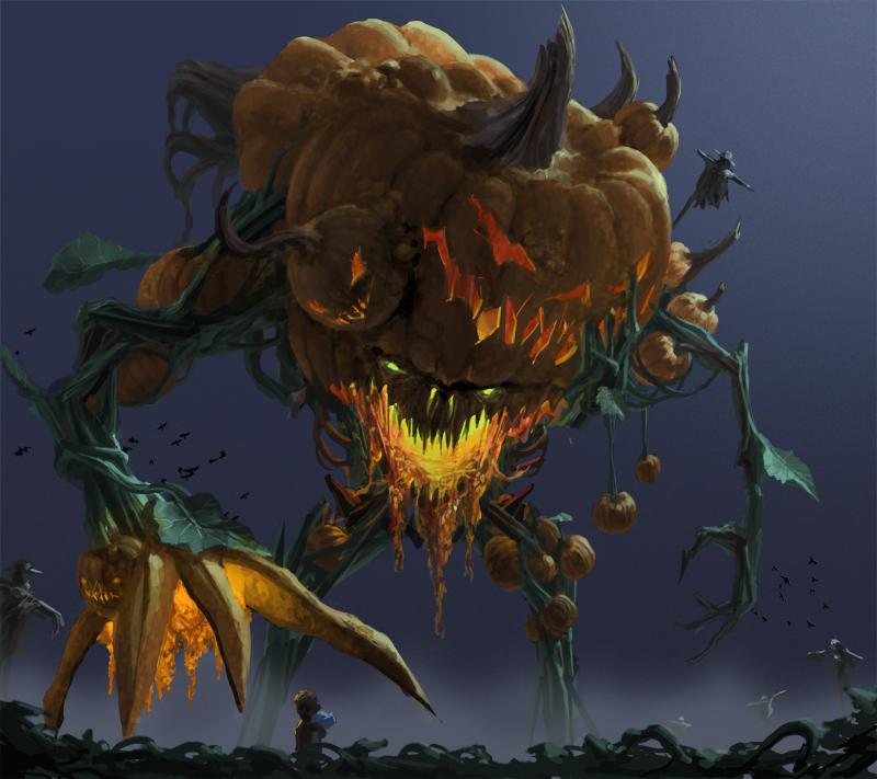 The Great Pumpkin by Phill-Art