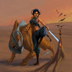 Jedi Jasmine by Phill-Art