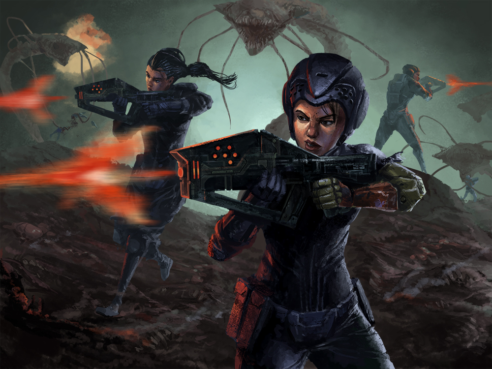 Bug Battle by Phill-Art