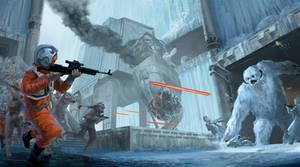 Hoth-like Keyframe - ILM Challenge