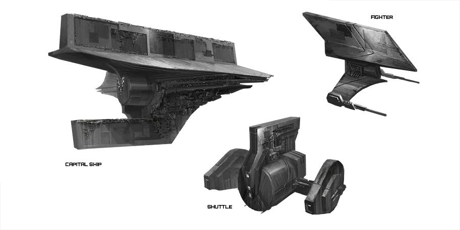 Danji Vehicle Sketches - ILM Challenge by Phill-Art