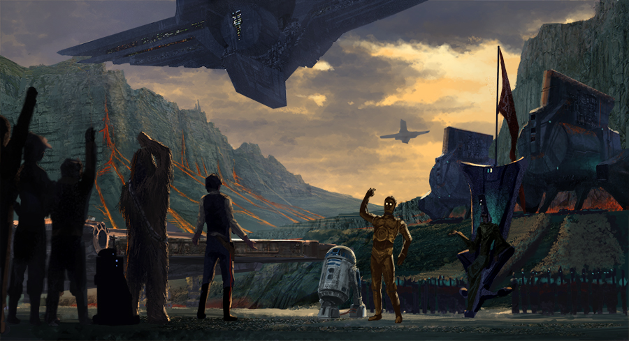 Keyframe Revision - ILM Challenge by Phill-Art