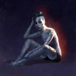 Planet Girl Mercury by Phill-Art