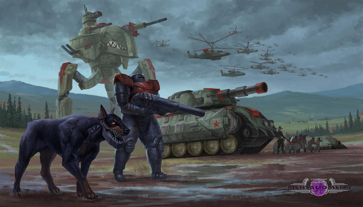 Mental Omega - Soviet Factions by Phill-Art