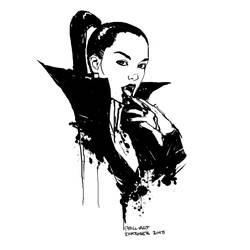 Inktober Vampire by Phill-Art