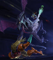 Ridley - Smash Ultimate by Phill-Art