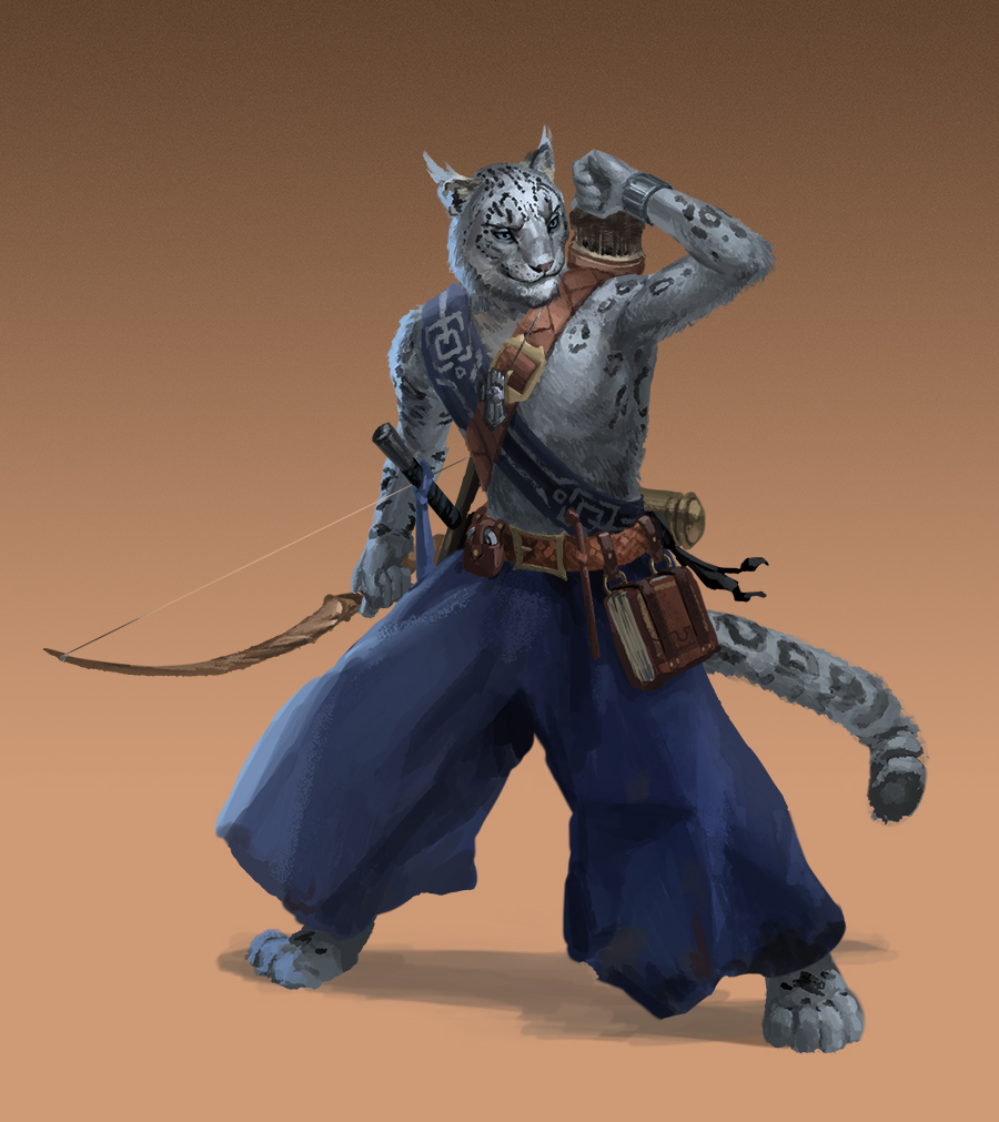 Commission Tabaxi Monk By Phill Art On Deviantart Tabaxi kensei monk build review. commission tabaxi monk by phill art